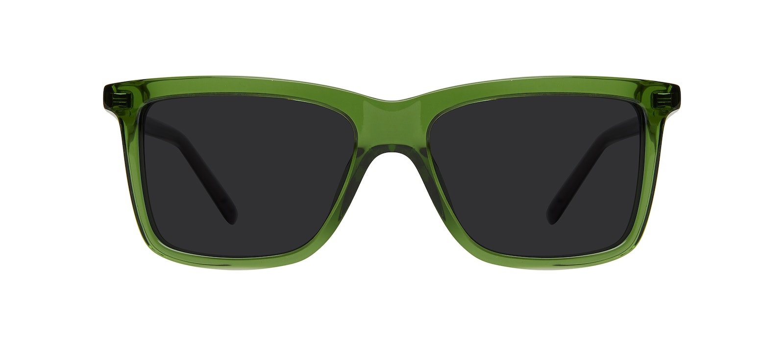 Affordable Fashion Glasses Square Sunglasses Kids Elite Junior Green Stone Front