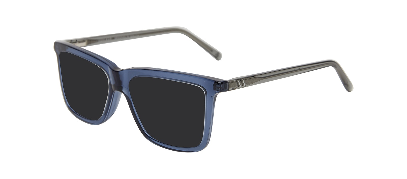 Affordable Fashion Glasses Square Sunglasses Kids Elite Junior Oxford Blue Tilt