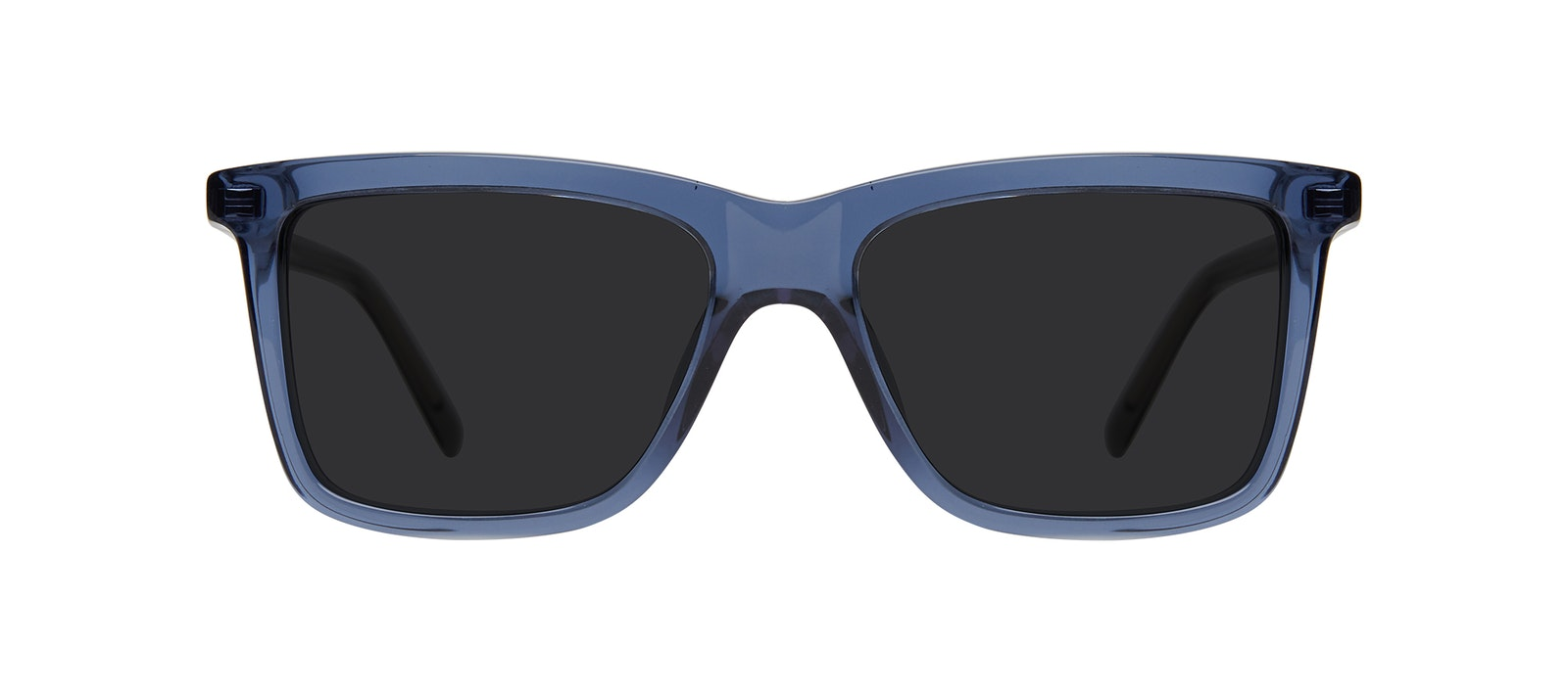Affordable Fashion Glasses Square Sunglasses Kids Elite Junior Oxford Blue Front