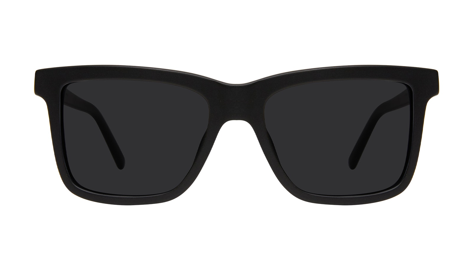 Affordable Fashion Glasses Square Sunglasses Men Elite Matte Black