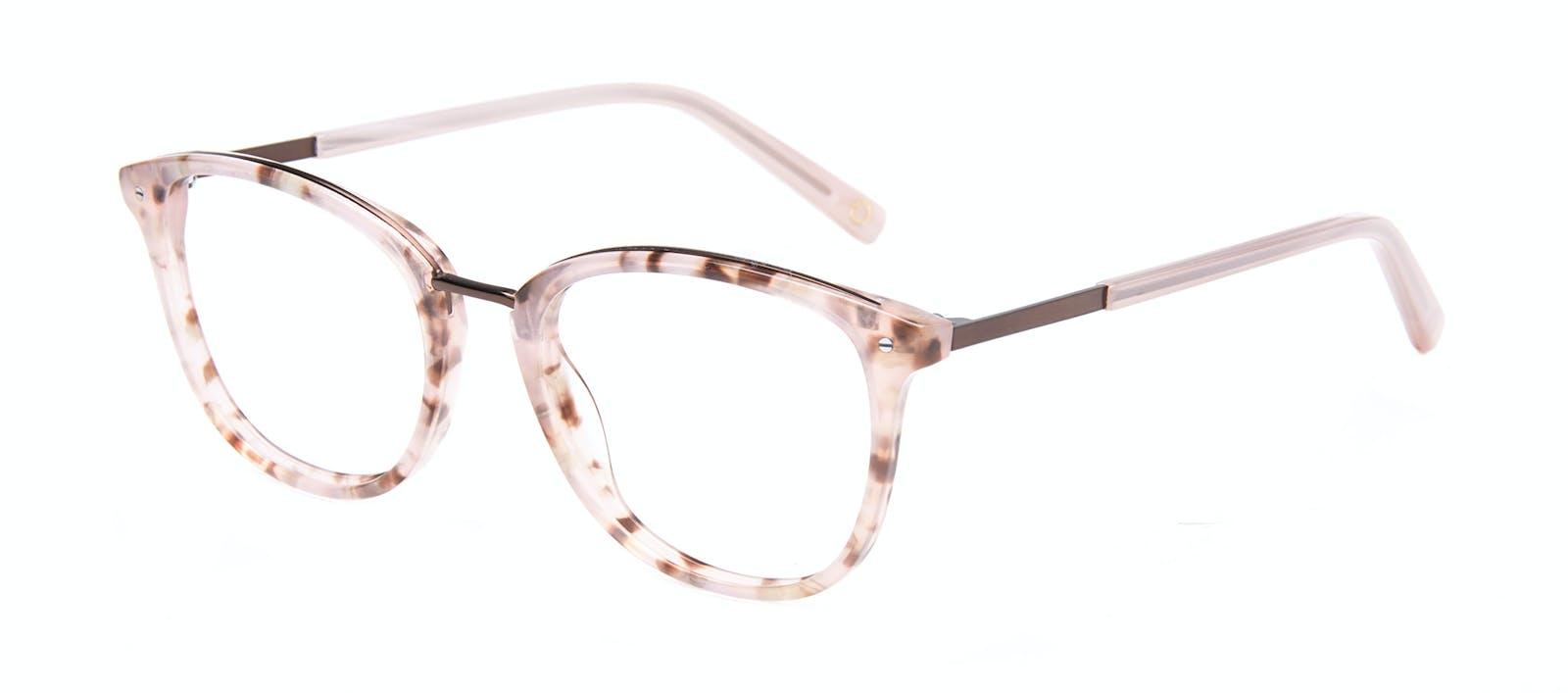 8c911a45bf Affordable Fashion Glasses Square Round Eyeglasses Women Bella Blush Tortie  Tilt