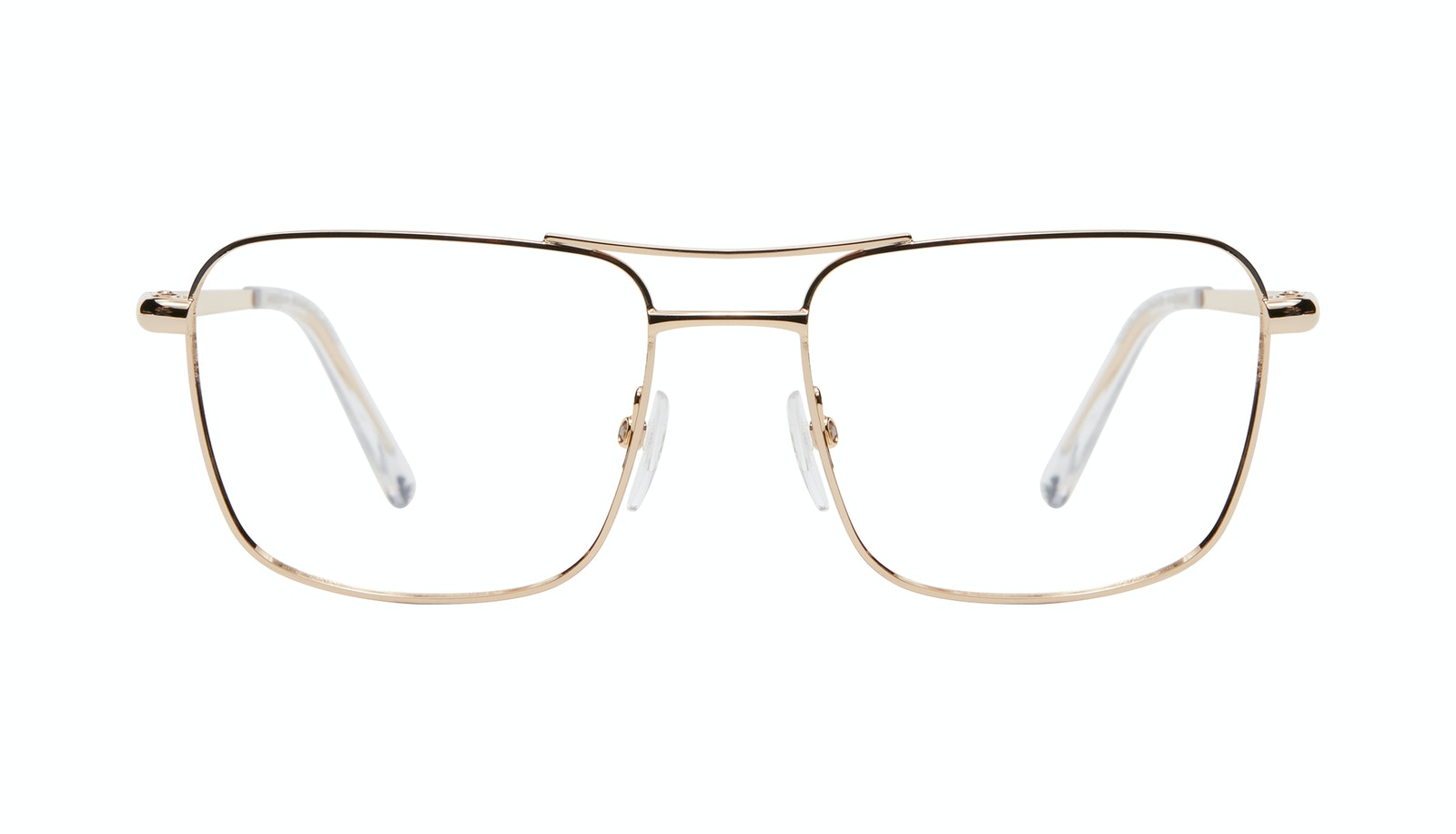 Affordable Fashion Glasses Aviator Eyeglasses Men Emerge Gold