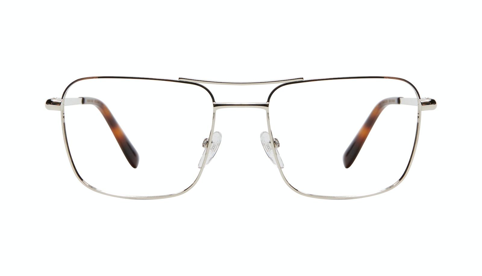Affordable Fashion Glasses Aviator Eyeglasses Men Emerge L Silver