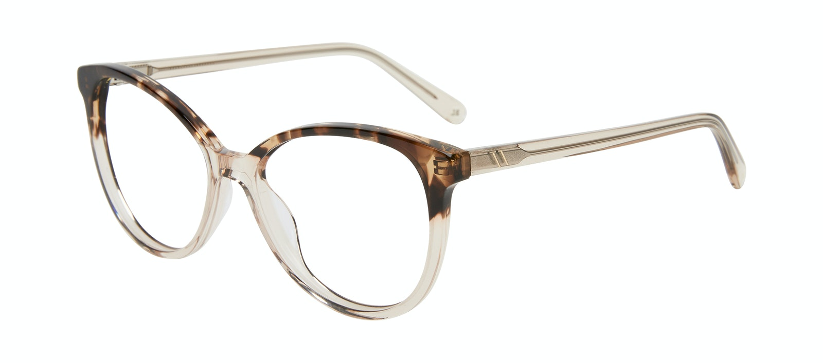 Affordable Fashion Glasses Cat Eye Eyeglasses Women Esprit L Golden Tortoise Tilt