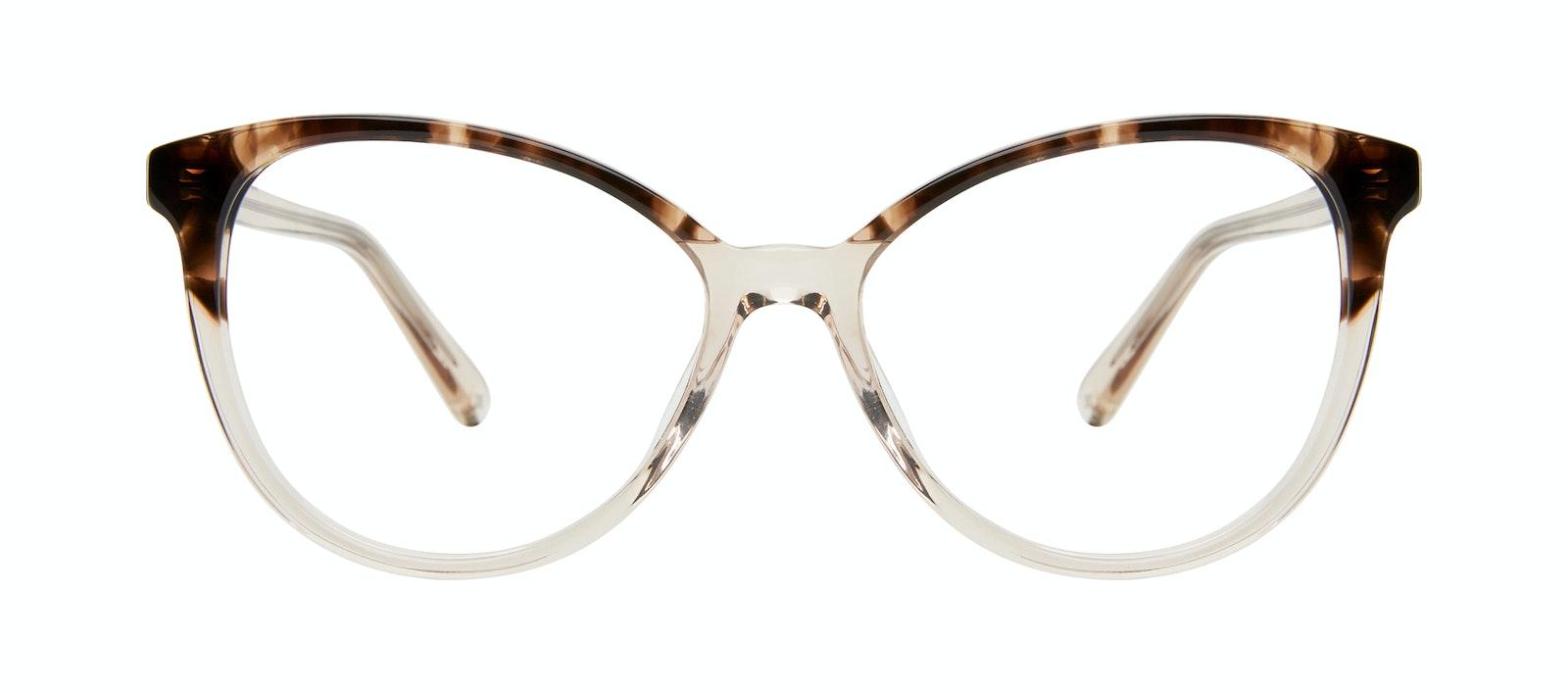 Affordable Fashion Glasses Cat Eye Eyeglasses Women Esprit L Golden Tortoise Front