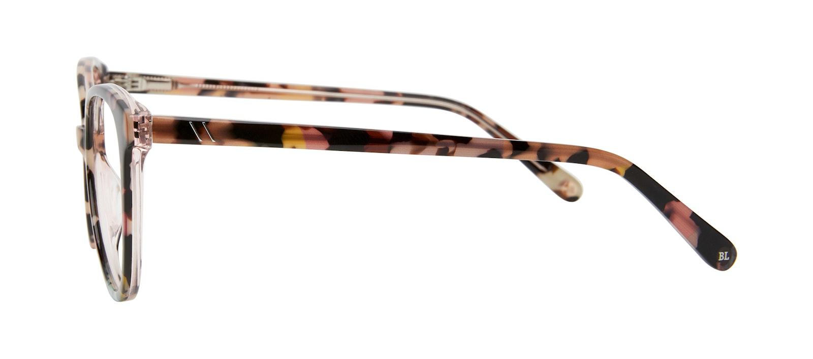 Affordable Fashion Glasses Cat Eye Eyeglasses Women Esprit L Pastel Tort Side
