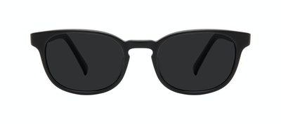 Affordable Fashion Glasses Square Sunglasses Men Essence Black Matte Front