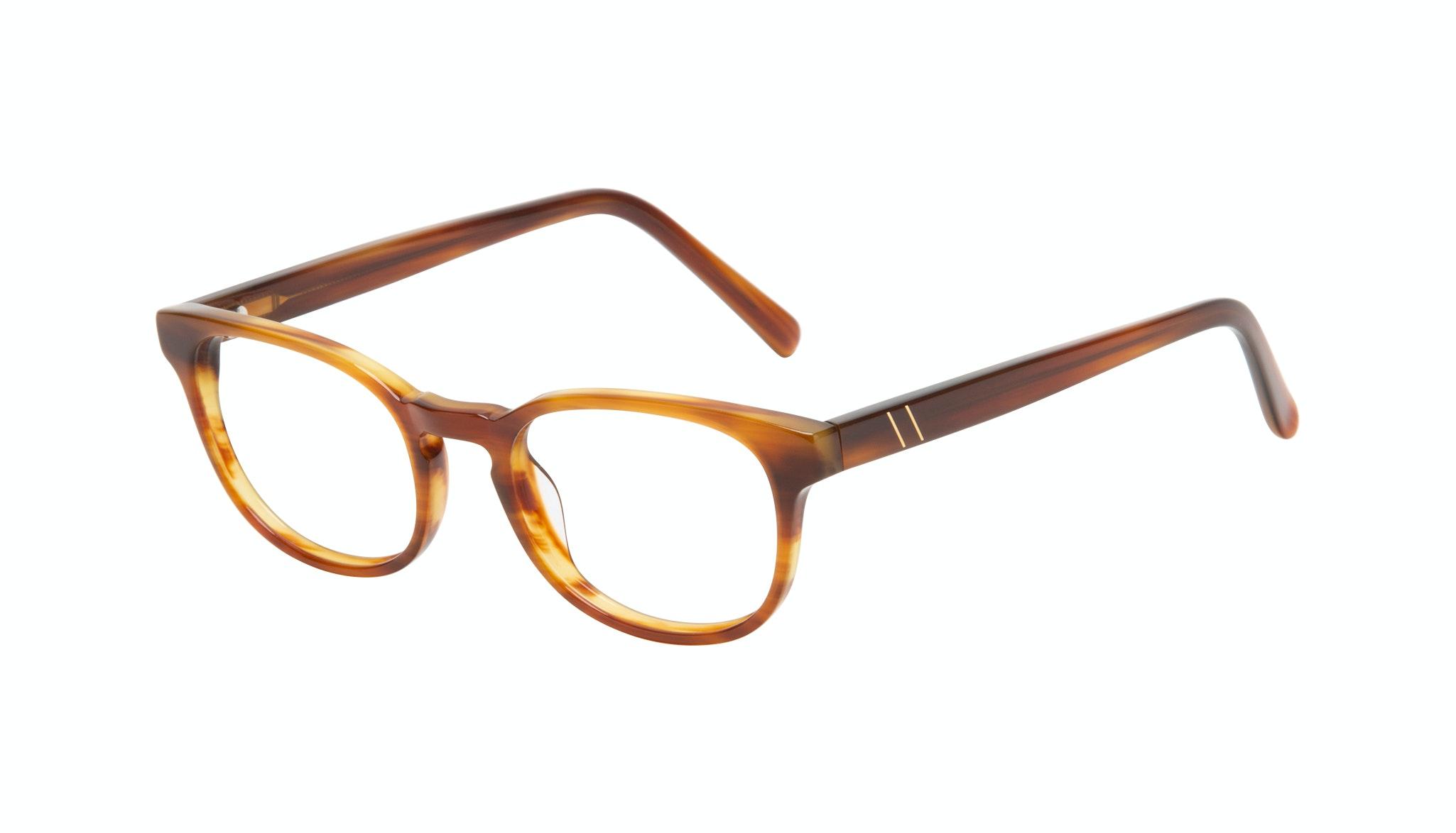 Affordable Fashion Glasses Square Eyeglasses Men Essence Havana Tilt