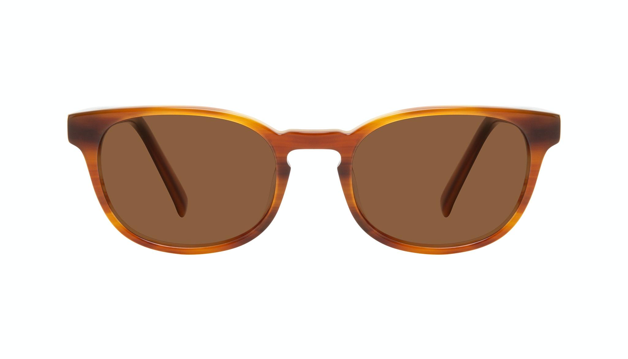 Affordable Fashion Glasses Square Sunglasses Men Essence Havana Front