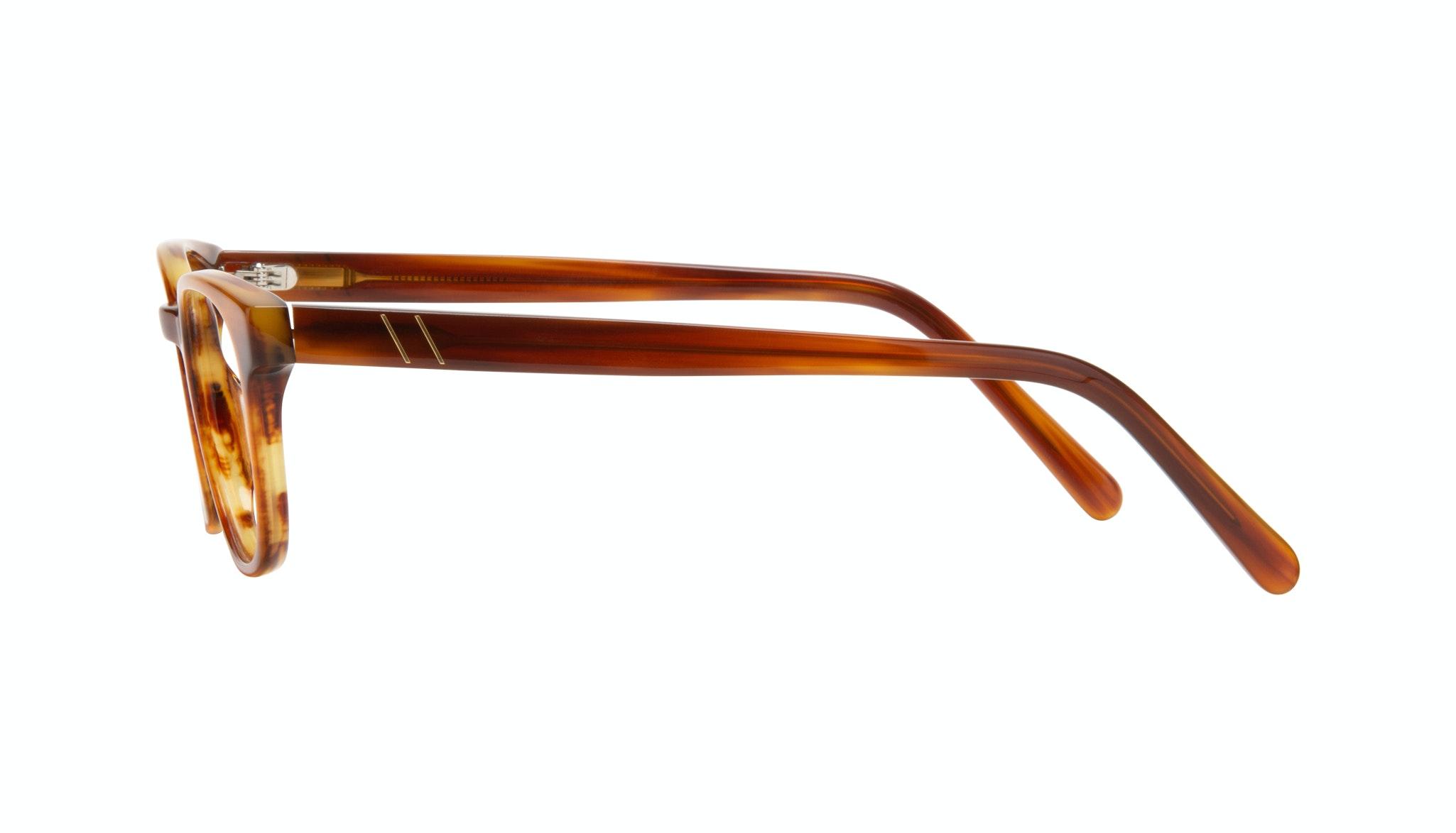 Affordable Fashion Glasses Square Eyeglasses Men Essence Havana Side