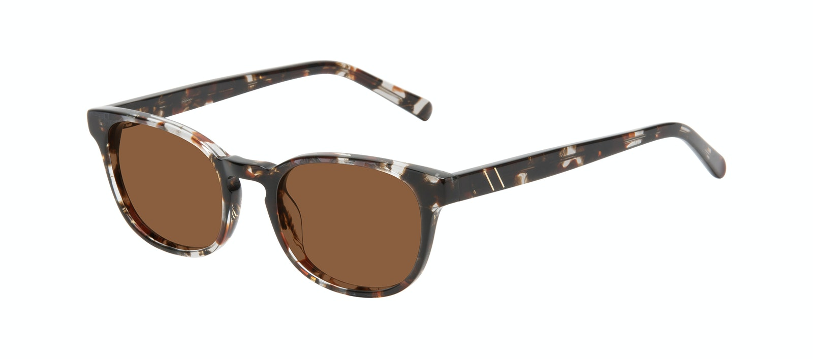 Affordable Fashion Glasses Square Sunglasses Men Essence Mocha Tort Tilt