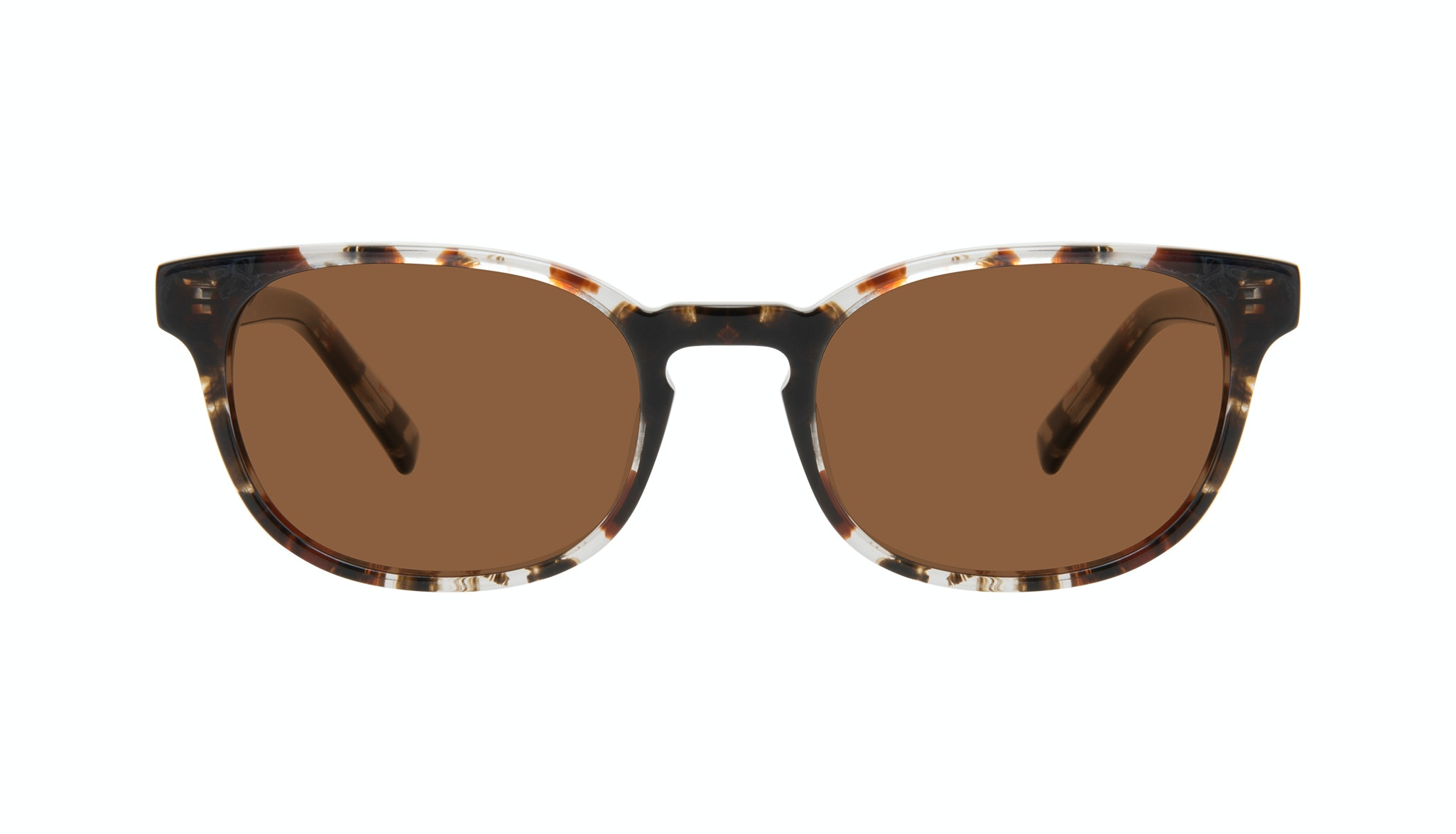 Affordable Fashion Glasses Square Sunglasses Men Essence Mocha Tort