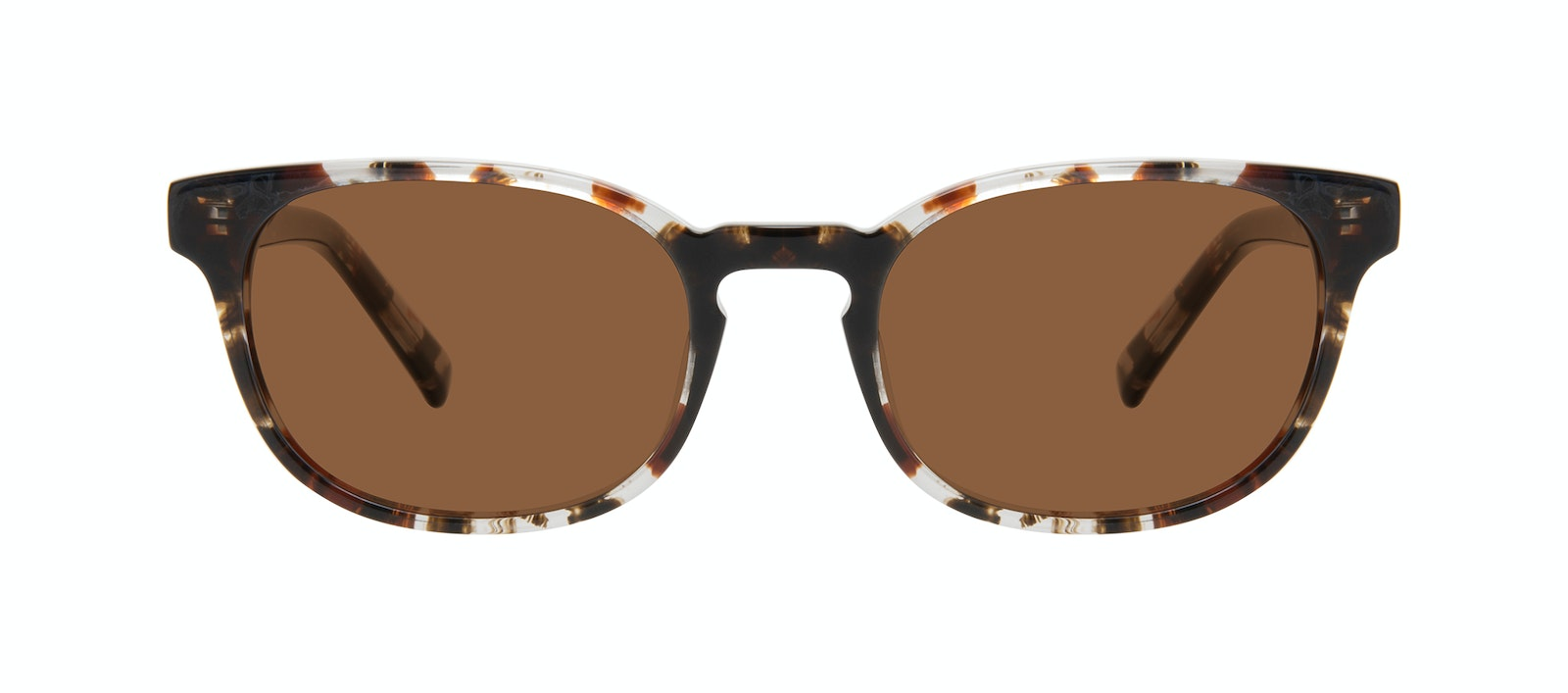Affordable Fashion Glasses Square Sunglasses Men Essence Mocha Tort Front