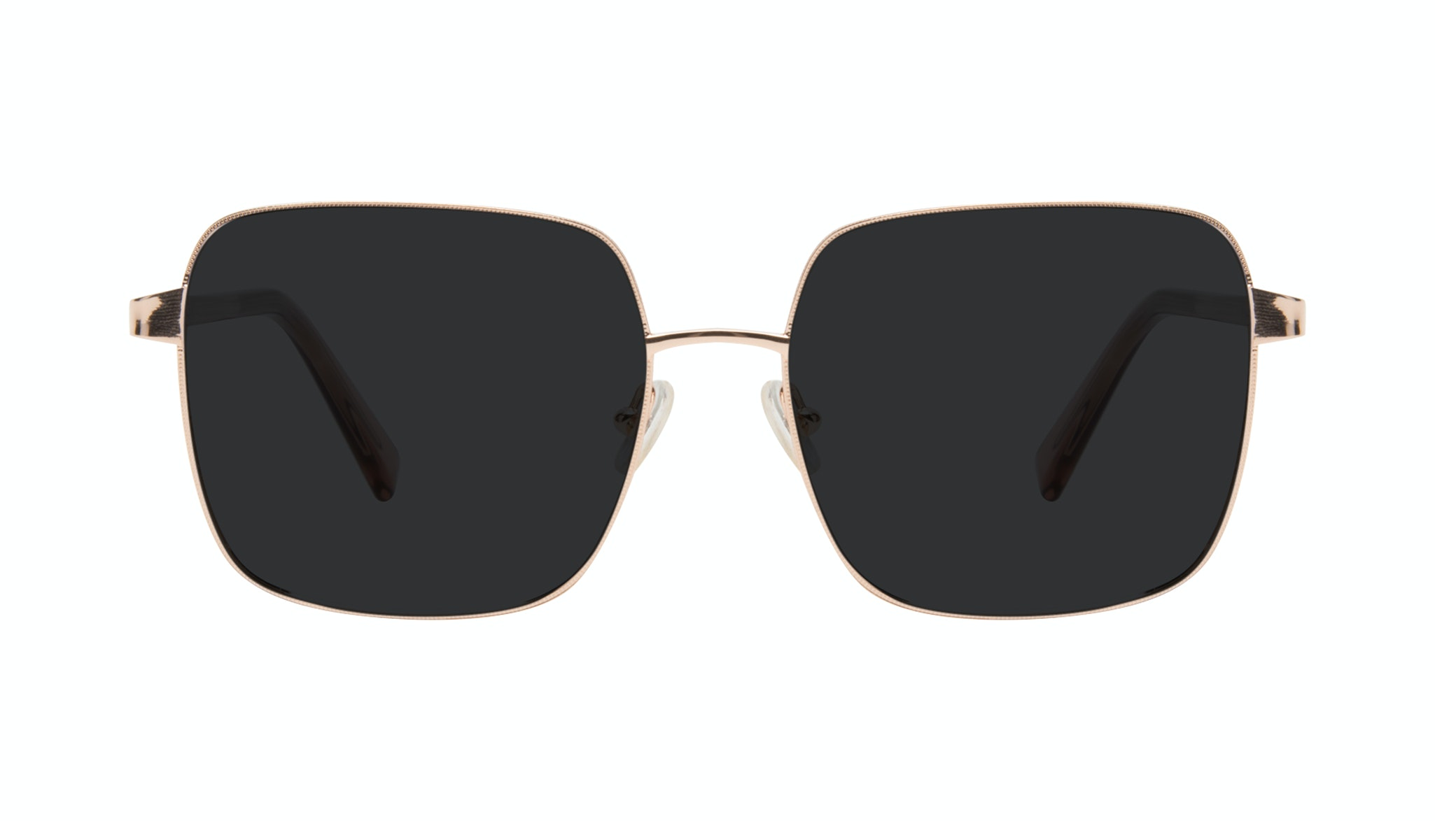 Affordable Fashion Glasses Square Sunglasses Women Fab Rose Front