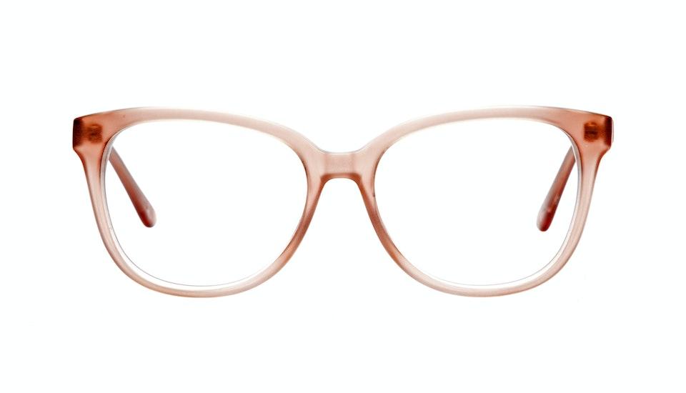 Affordable Fashion Glasses Round Eyeglasses Women Fancy-Pants Rose Front