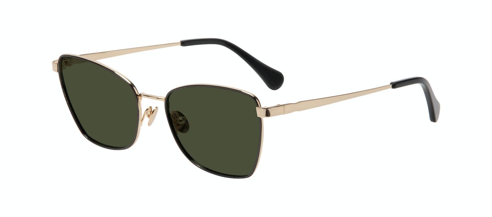 Affordable Fashion Glasses Cat Eye Sunglasses Women Fancy Deep Gold Tilt