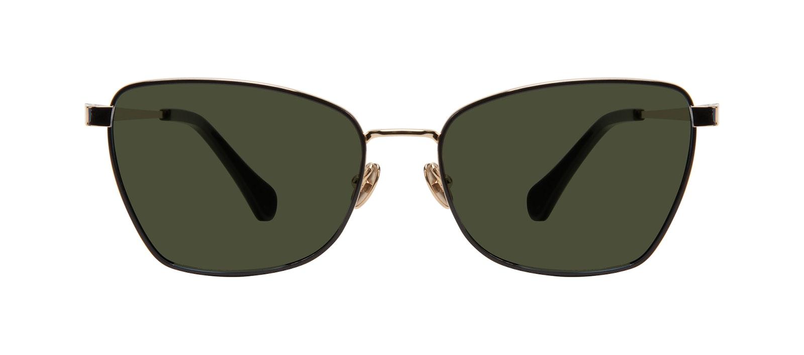 Affordable Fashion Glasses Cat Eye Sunglasses Women Fancy Deep Gold Front