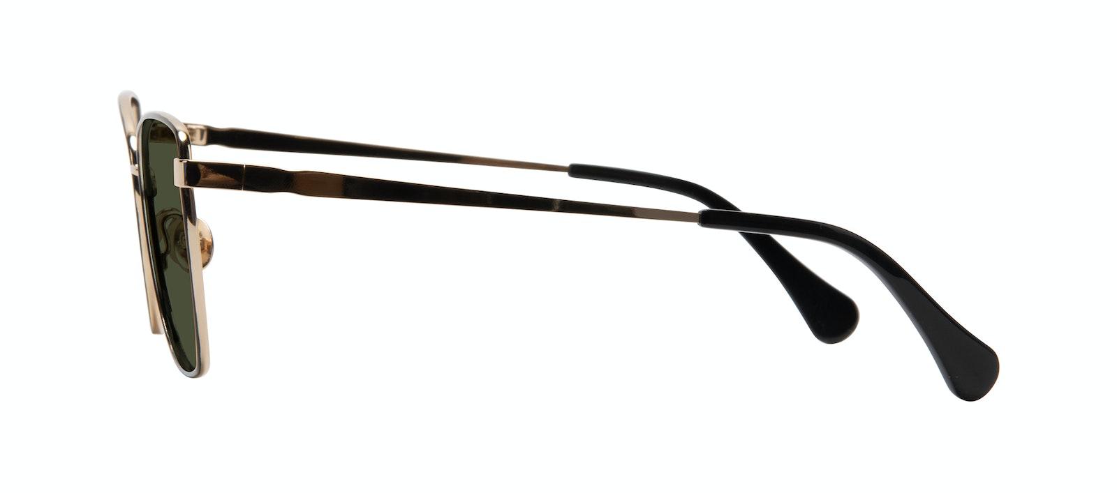 Affordable Fashion Glasses Cat Eye Sunglasses Women Fancy Deep Gold Side