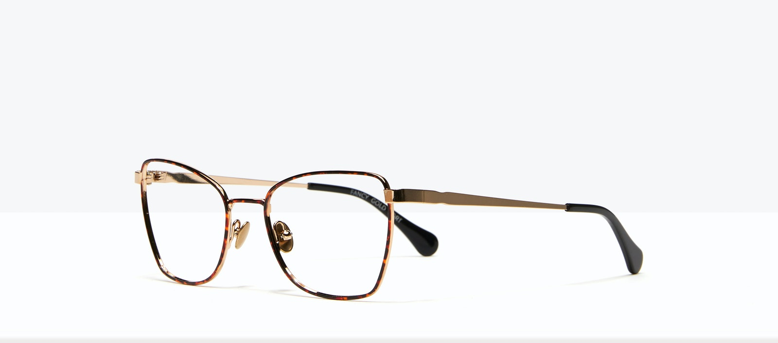 Affordable Fashion Glasses Cat Eye Eyeglasses Women Fancy Gold Tort Tilt
