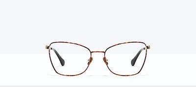 Affordable Fashion Glasses Cat Eye Eyeglasses Women Fancy Gold Tort Front