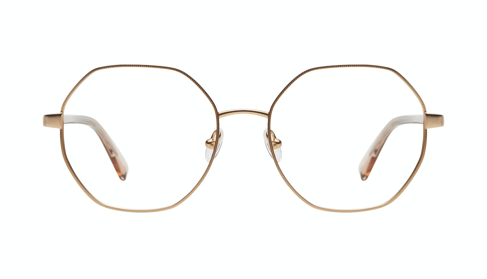 Affordable Fashion Glasses Round Eyeglasses Women Fantasy Matte Gold