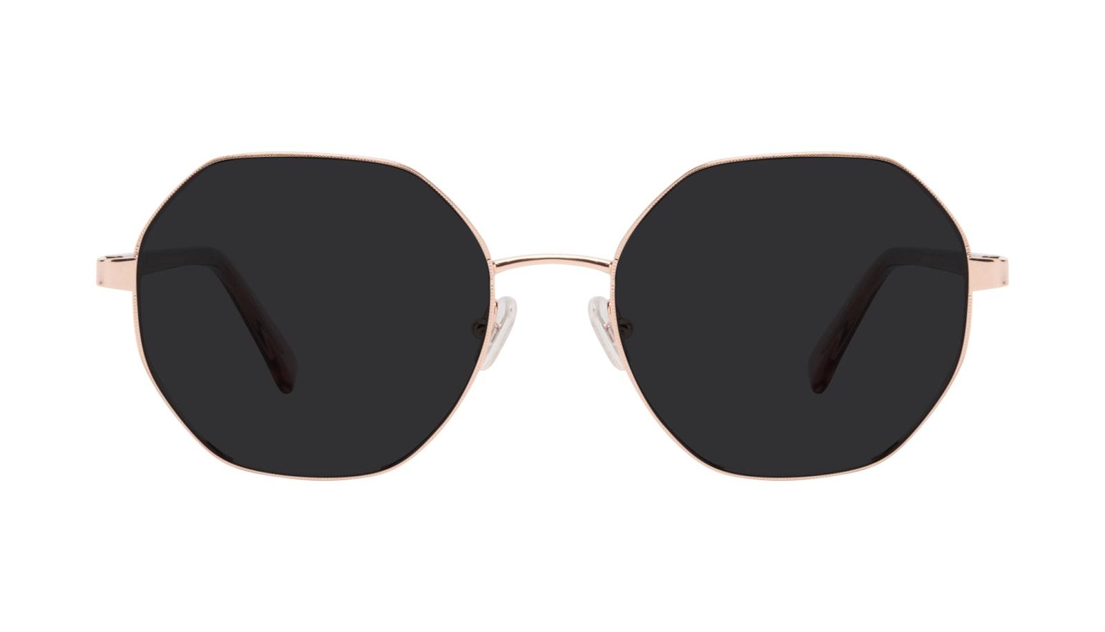 Affordable Fashion Glasses Round Sunglasses Women Fantasy Rose