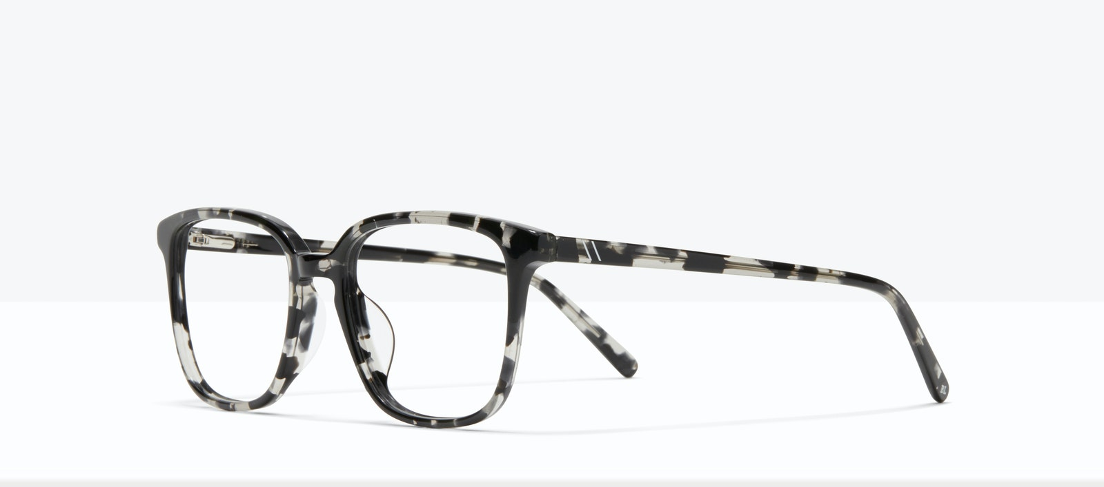 Affordable Fashion Glasses Square Eyeglasses Men Fellow XL Black Tort Tilt