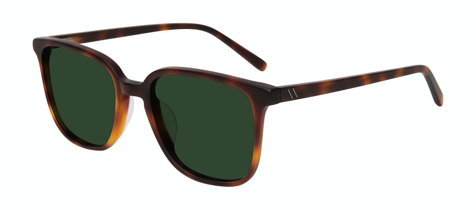 Affordable Fashion Glasses Square Sunglasses Men Fellow Matte Tortoise Tilt