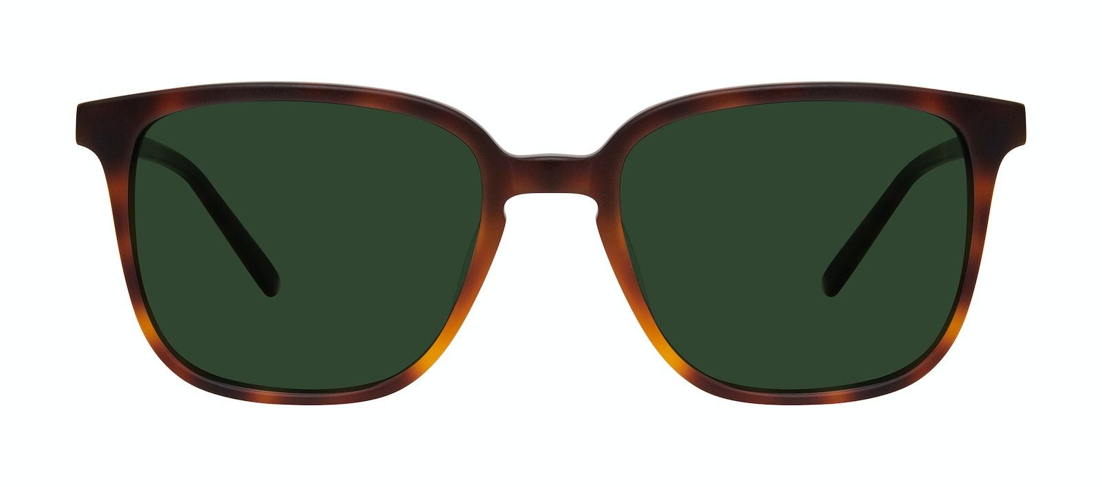 Affordable Fashion Glasses Square Sunglasses Men Fellow Matte Tortoise Front