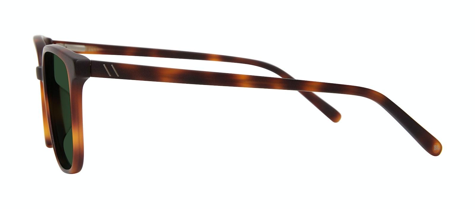 Affordable Fashion Glasses Square Sunglasses Men Fellow Matte Tortoise Side