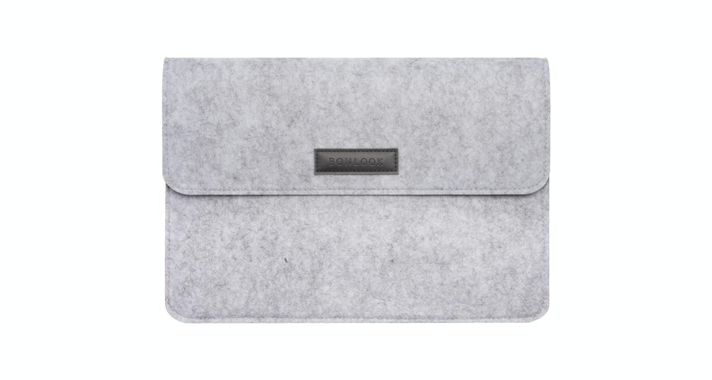 Lunettes tendance Accessoire Hommes Femmes Felt Laptop Bag Grey