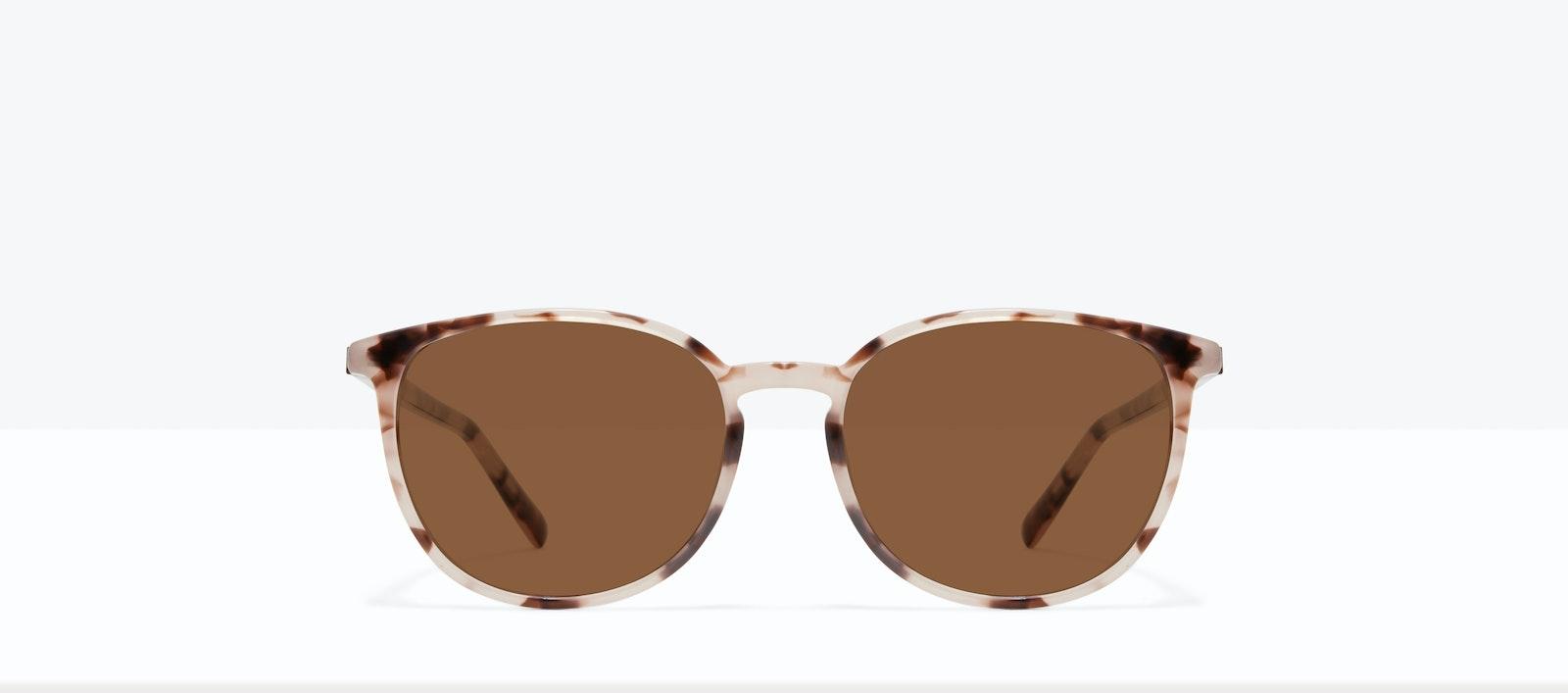 Affordable Fashion Glasses Round Sunglasses Women Femme Libre L Erzebeth Front