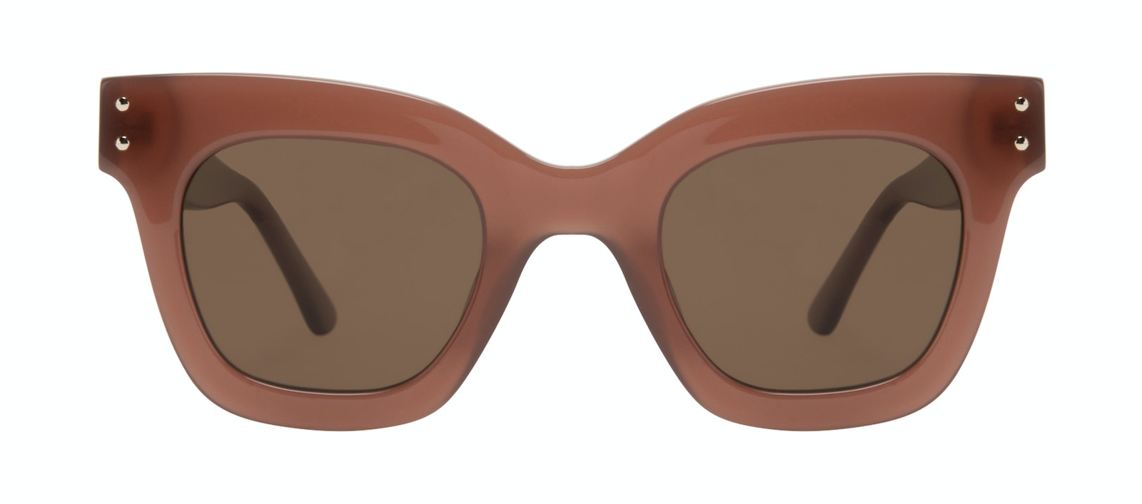 Affordable Fashion Glasses Square Sunglasses Women Fever Toffee Front