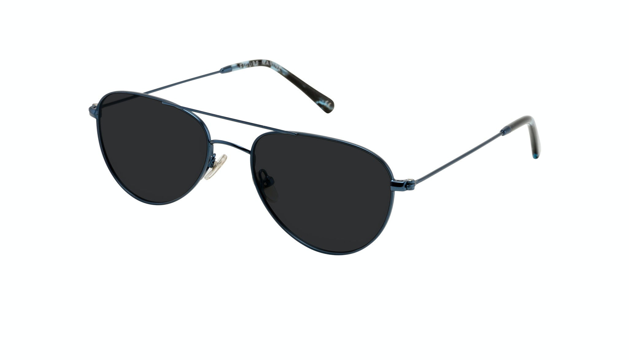 Affordable Fashion Glasses Aviator Sunglasses Women Figure Marine Tilt