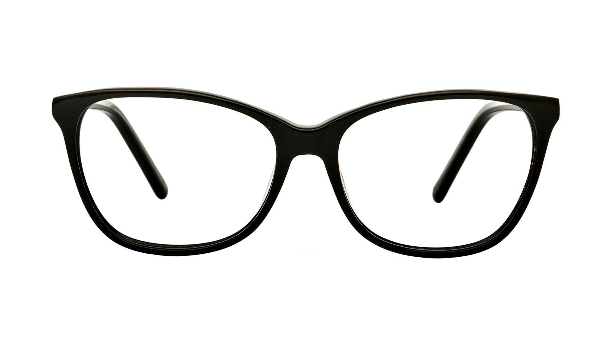 Affordable Fashion Glasses Cat Eye Eyeglasses Women Flair Onyx Front
