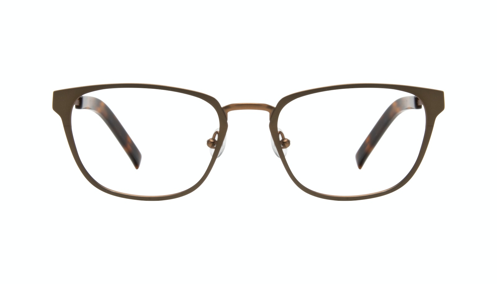 Affordable Fashion Glasses Square Eyeglasses Men Flex Khaki