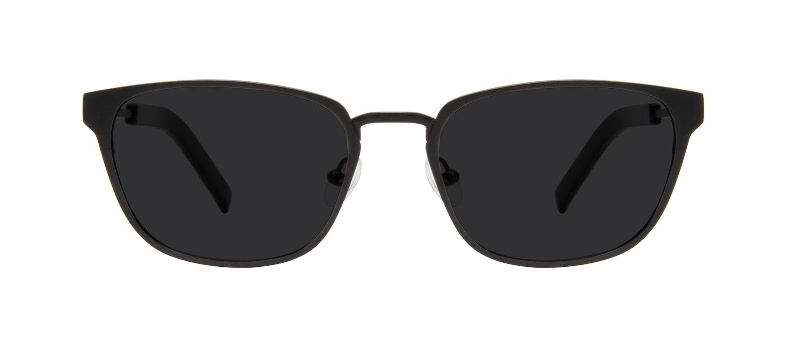 Affordable Fashion Glasses Square Sunglasses Men Flex Onyx Matte Front