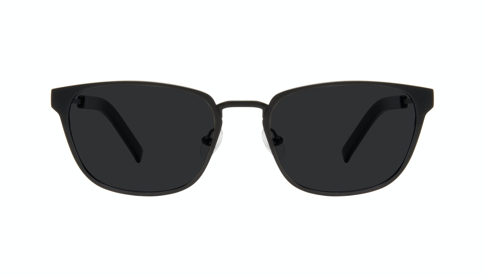 Affordable Fashion Glasses Square Sunglasses Men Flex Onyx Matte