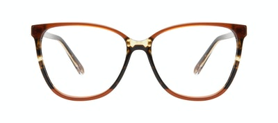 Affordable Fashion Glasses Square Eyeglasses Women Flora Aurora Front