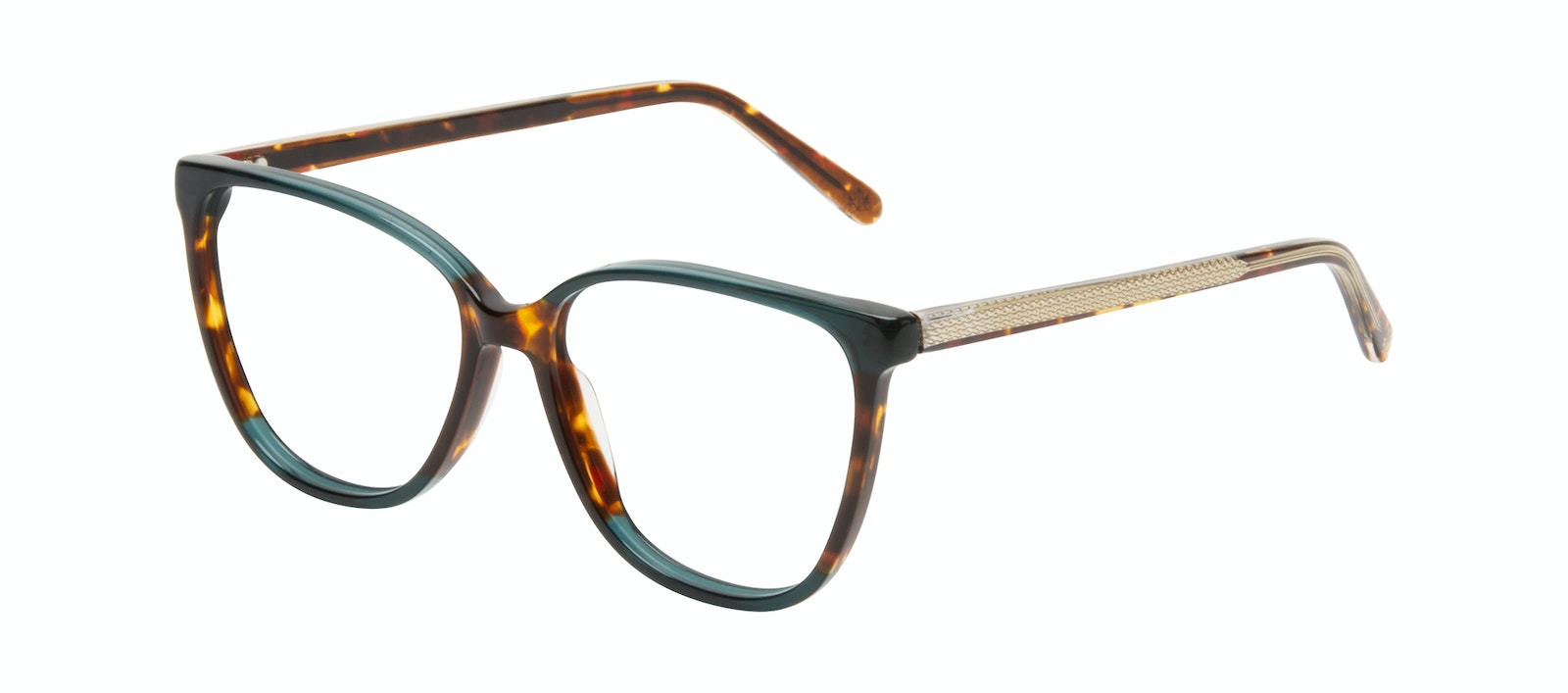 Affordable Fashion Glasses Square Eyeglasses Women Flora Pine Tilt