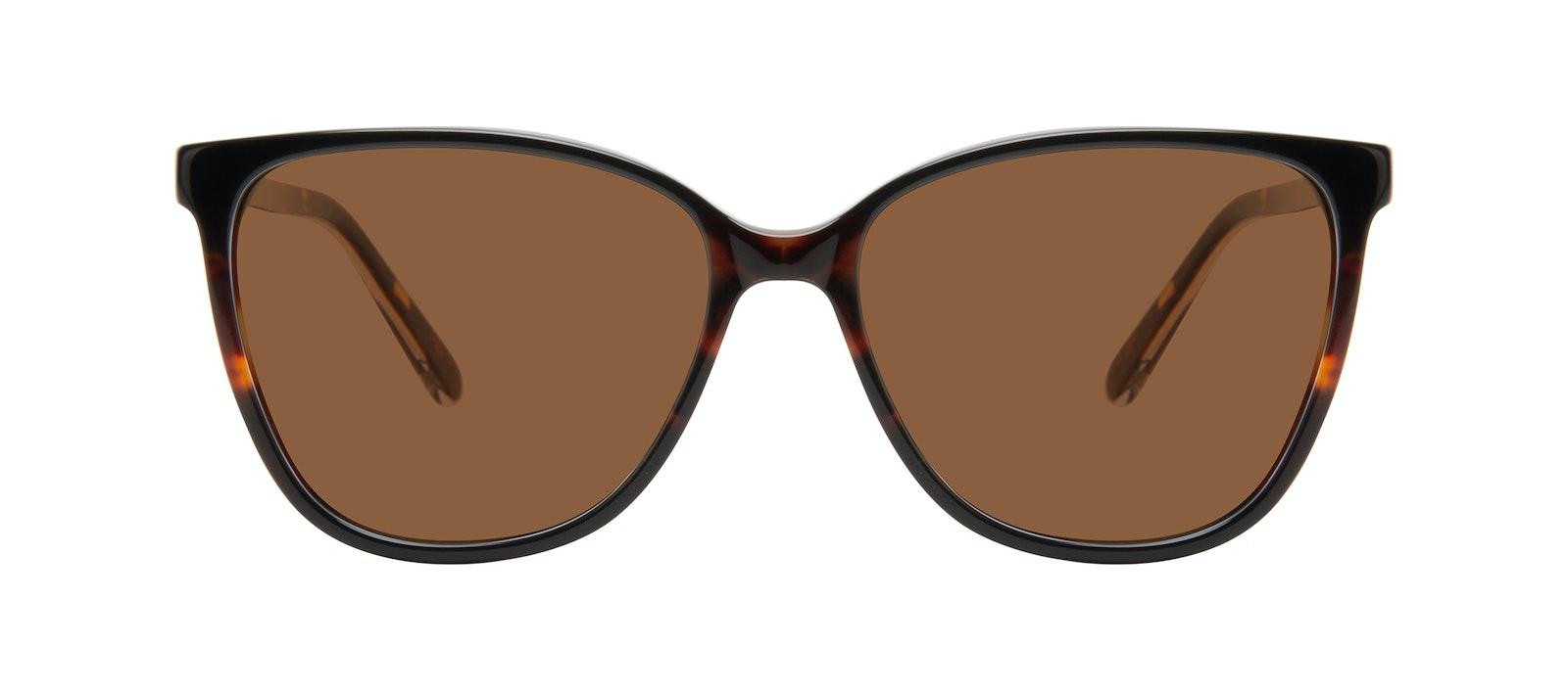 Affordable Fashion Glasses Square Sunglasses Women Flora Tundra Front