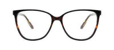 Affordable Fashion Glasses Square Eyeglasses Women Flora Tundra Front