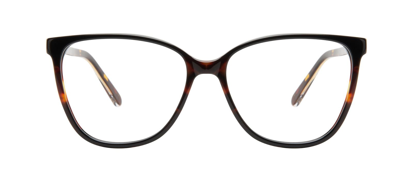 Affordable Fashion Glasses Square Eyeglasses Women Flora Tundra Front