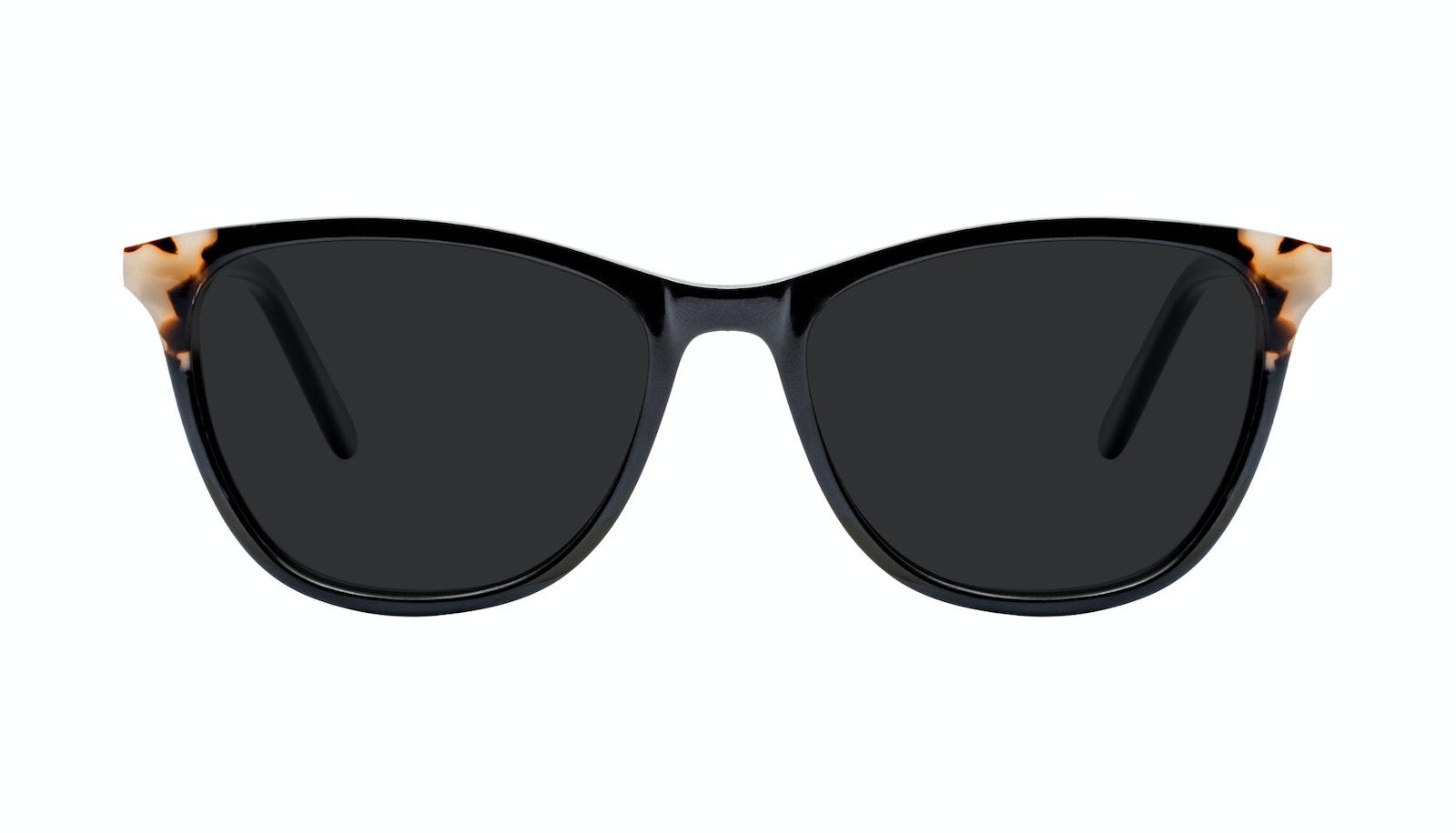 Affordable Fashion Glasses Rectangle Sunglasses Women Folk Ebony Granite