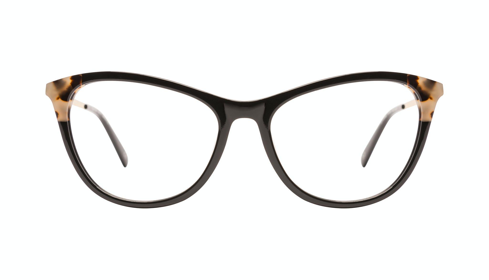 Affordable Fashion Glasses Cat Eye Eyeglasses Women Folk Plus Ebony Granite Front