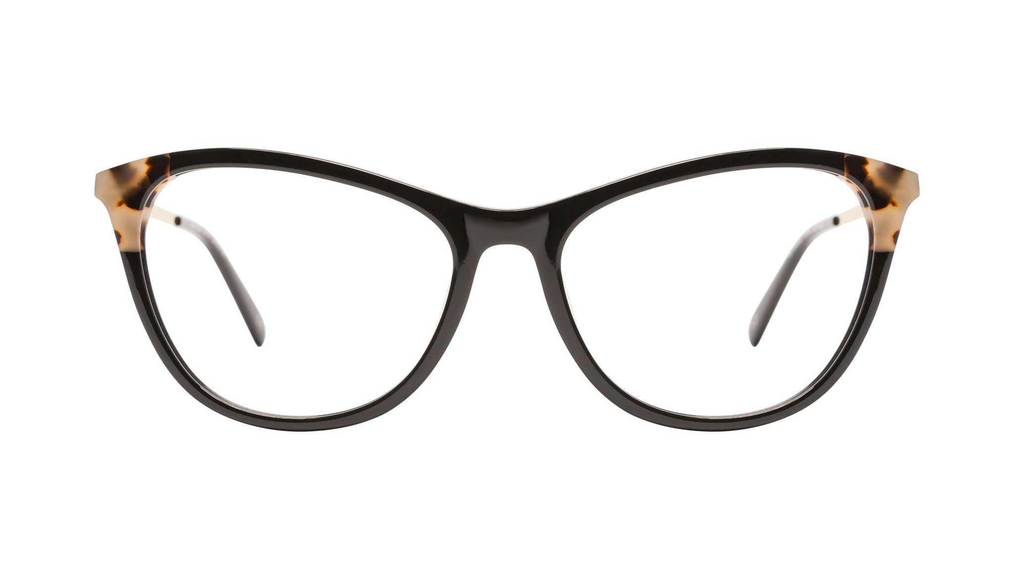 Affordable Fashion Glasses Rectangle Eyeglasses Women Folk Plus Ebony Granite Front