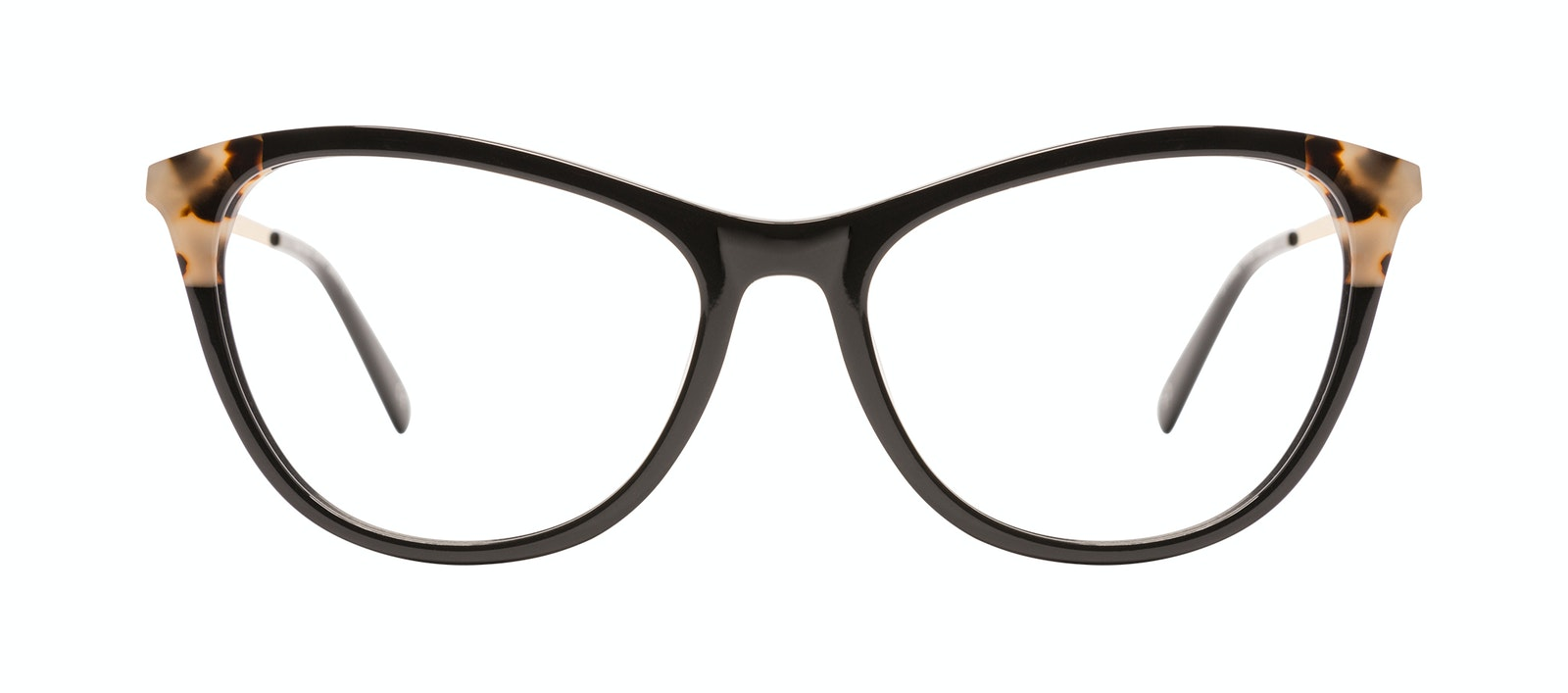 Affordable Fashion Glasses Rectangle Eyeglasses Women Folk Plus Ebony Granite Front