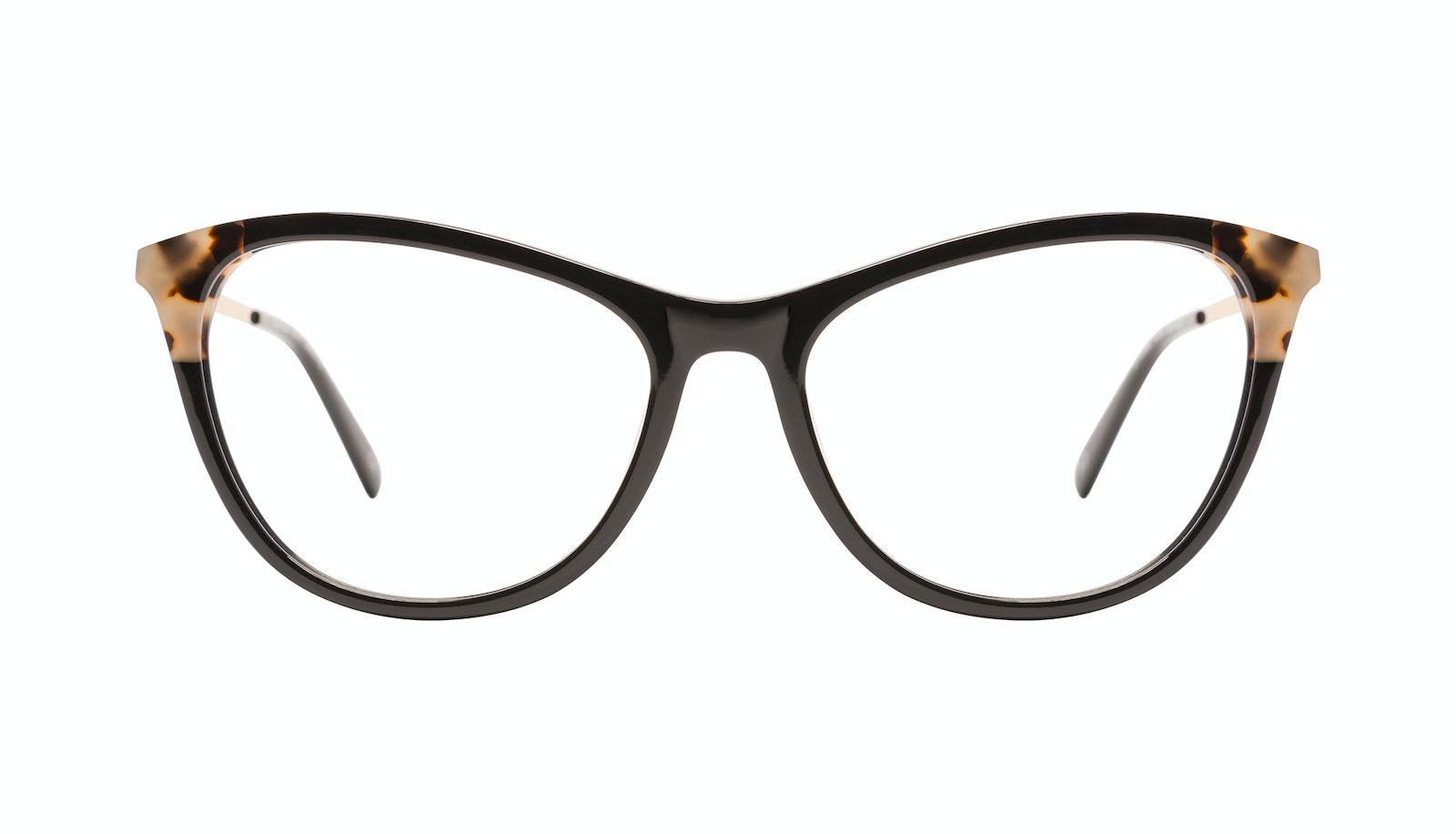 Affordable Fashion Glasses Rectangle Eyeglasses Women Folk Plus Ebony Granite