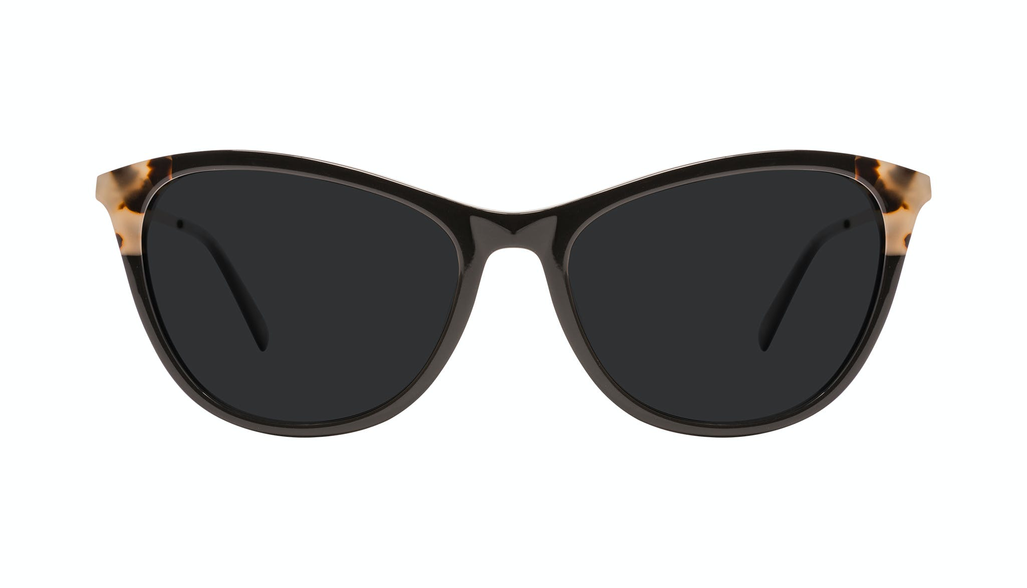 Affordable Fashion Glasses Cat Eye Sunglasses Women Folk Plus Ebony Granite