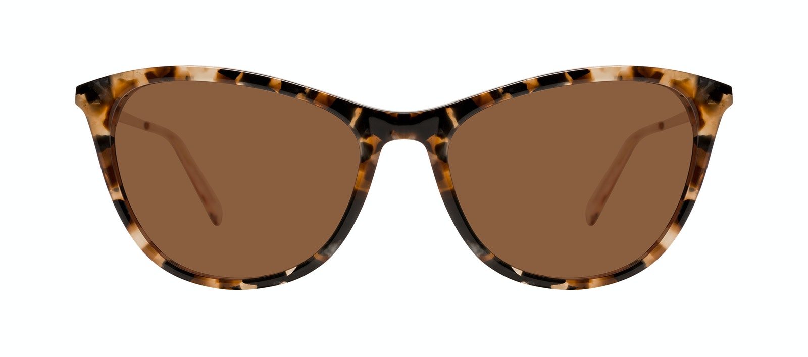 Affordable Fashion Glasses Rectangle Sunglasses Women Folk Plus Gold Flake Front